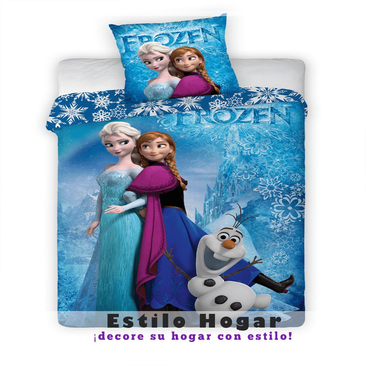 Funda Nordica Frozen 105.Relleno Nordico Frozen La Tienda Textil Nº1 En Toda Espana