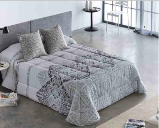 Edredon Conforter Barbadella Kovu Negro