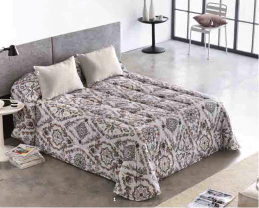 Edredon Conforter Barbadella Sade Gris