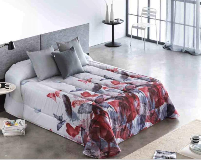 Edredon Conforter Barbadella Sira Rojo