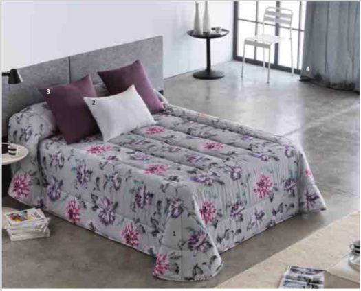 Edredon Conforter Barbadella Sunny Lila