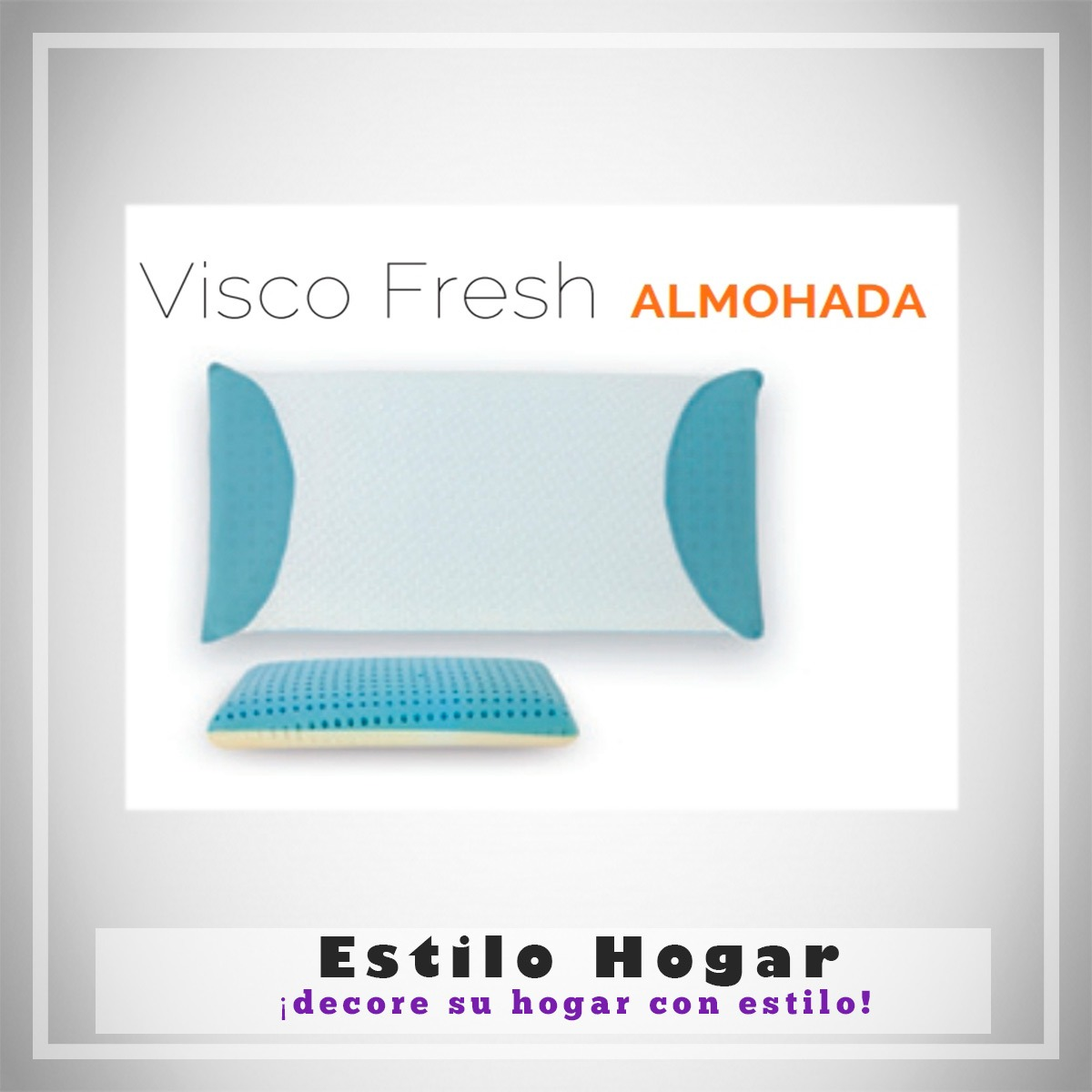Funda Almohada VISCO FRESH