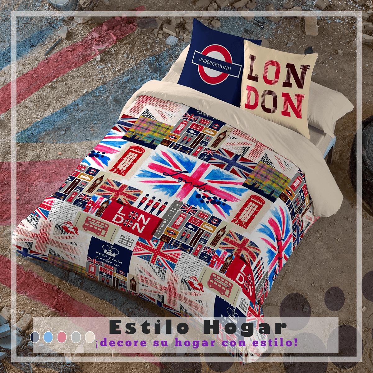 Funda Nordica Underground.Funda Nordica Britain La Tienda Textil Nº1 En Toda Espana