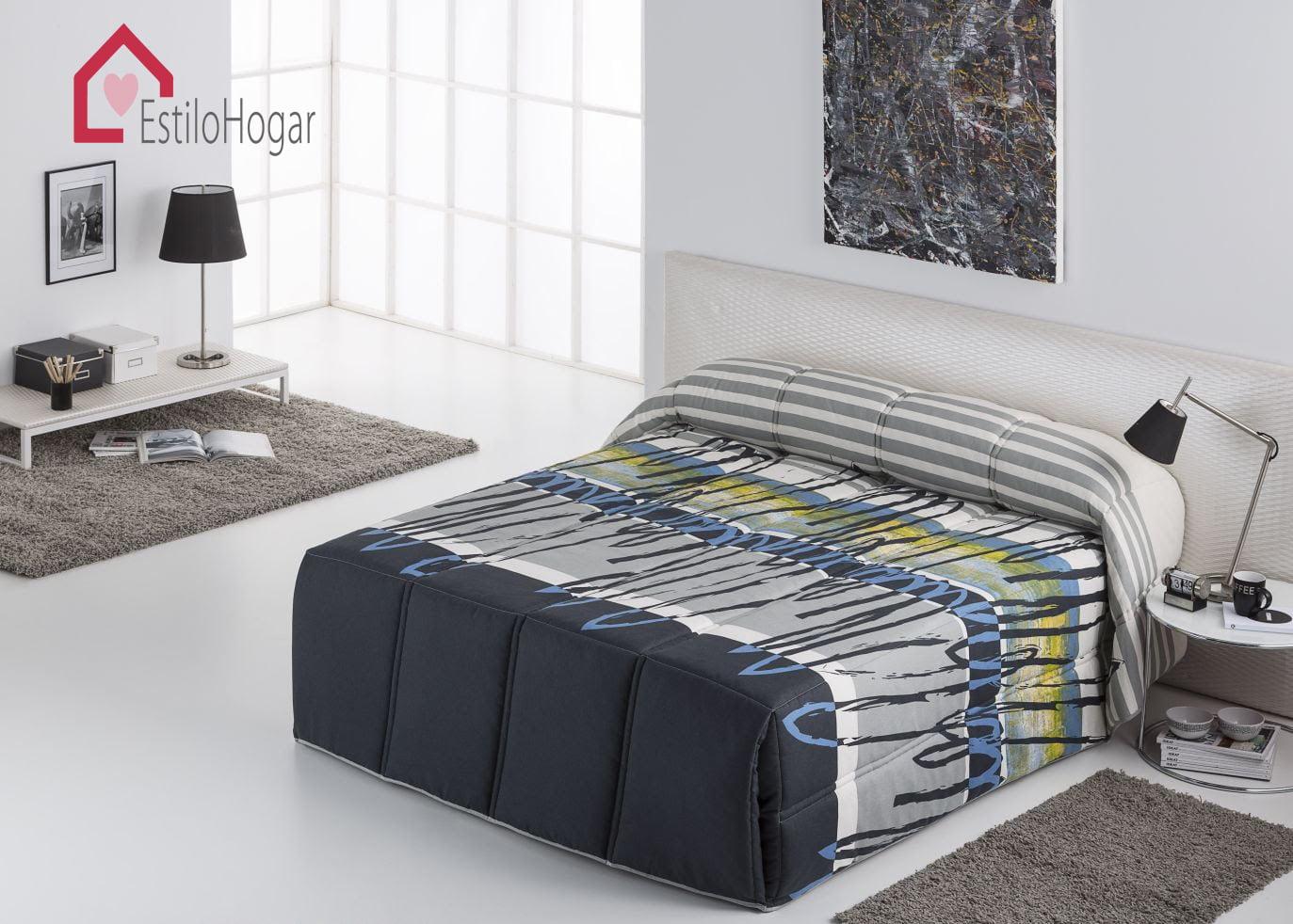 Edredon Conforter Chipre Azul