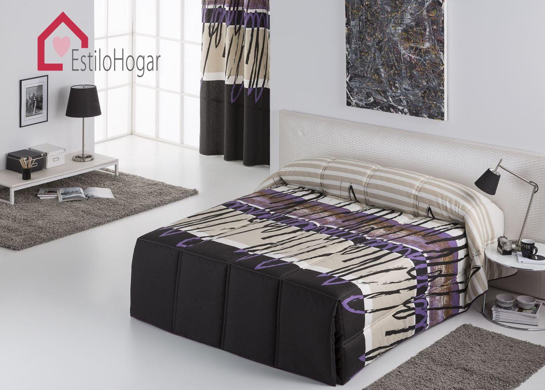 Edredon Conforter Chipre Negro
