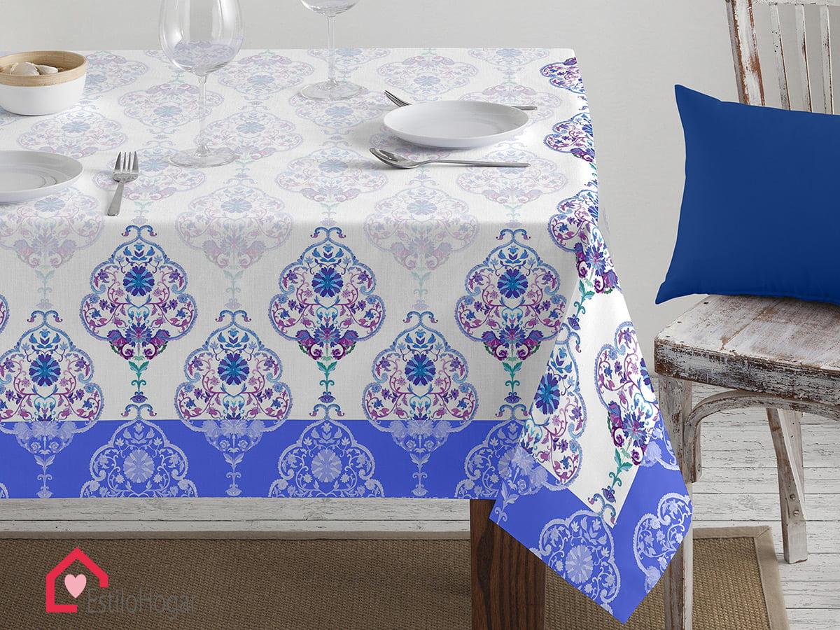 Mantel Barbadella Delos Azul