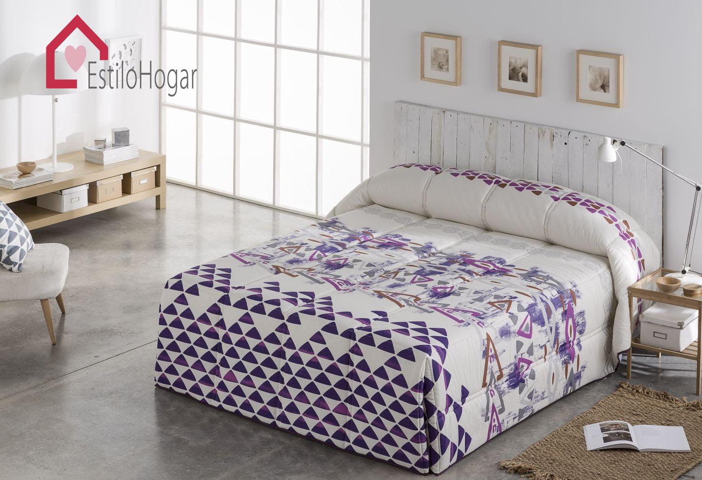 Edredon Conforter Fliyi Lila