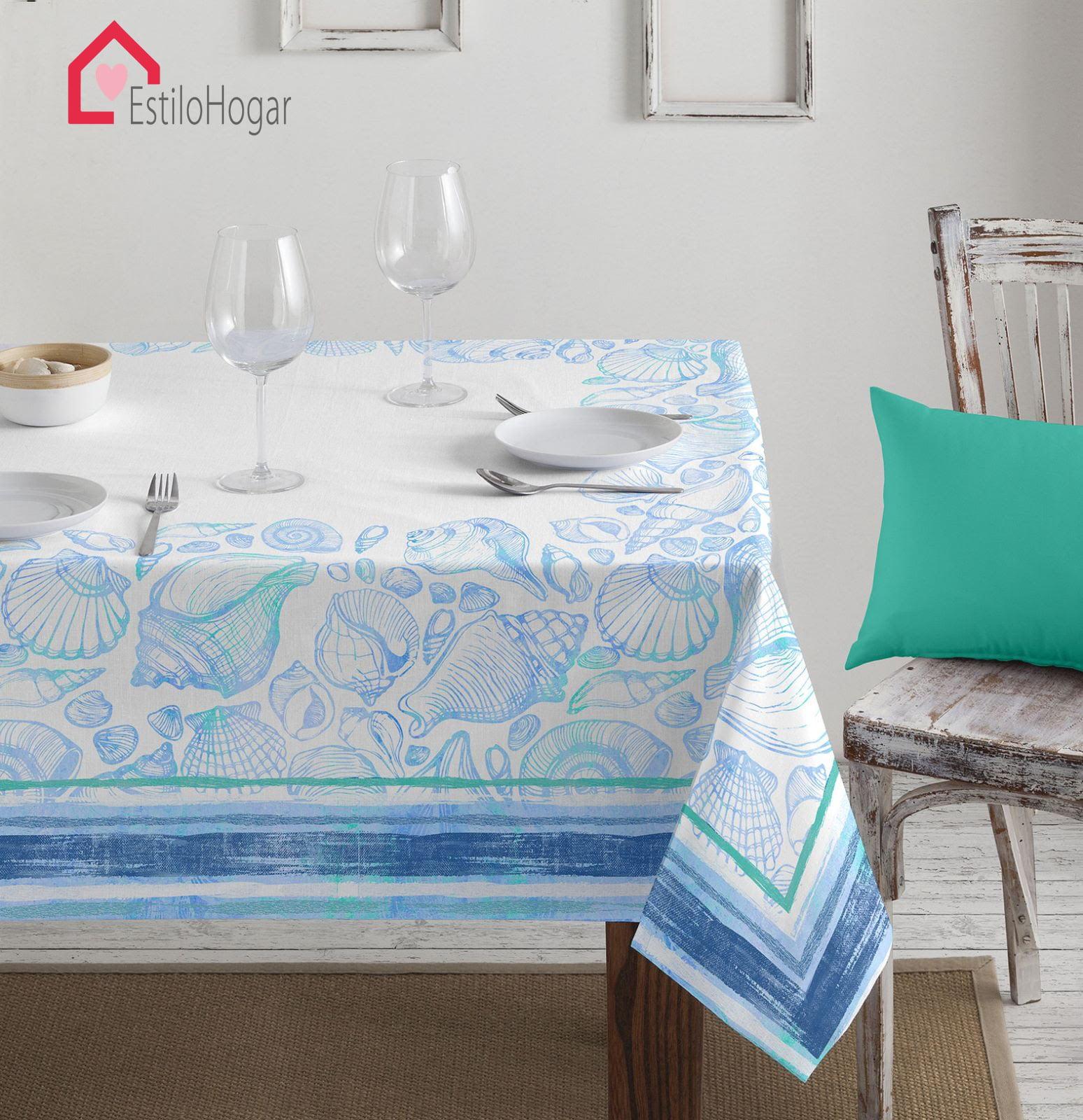 Mantel Barbadella Kea Azul
