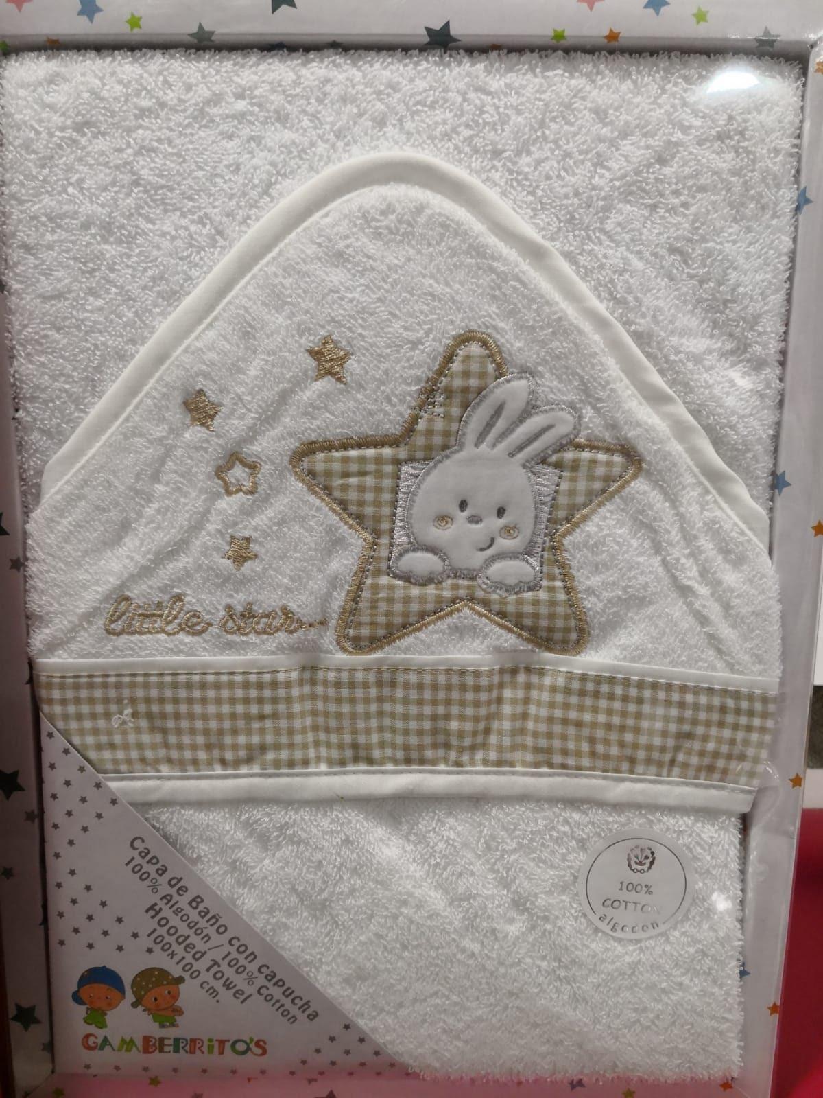 Capa de Baño Estrella Beige