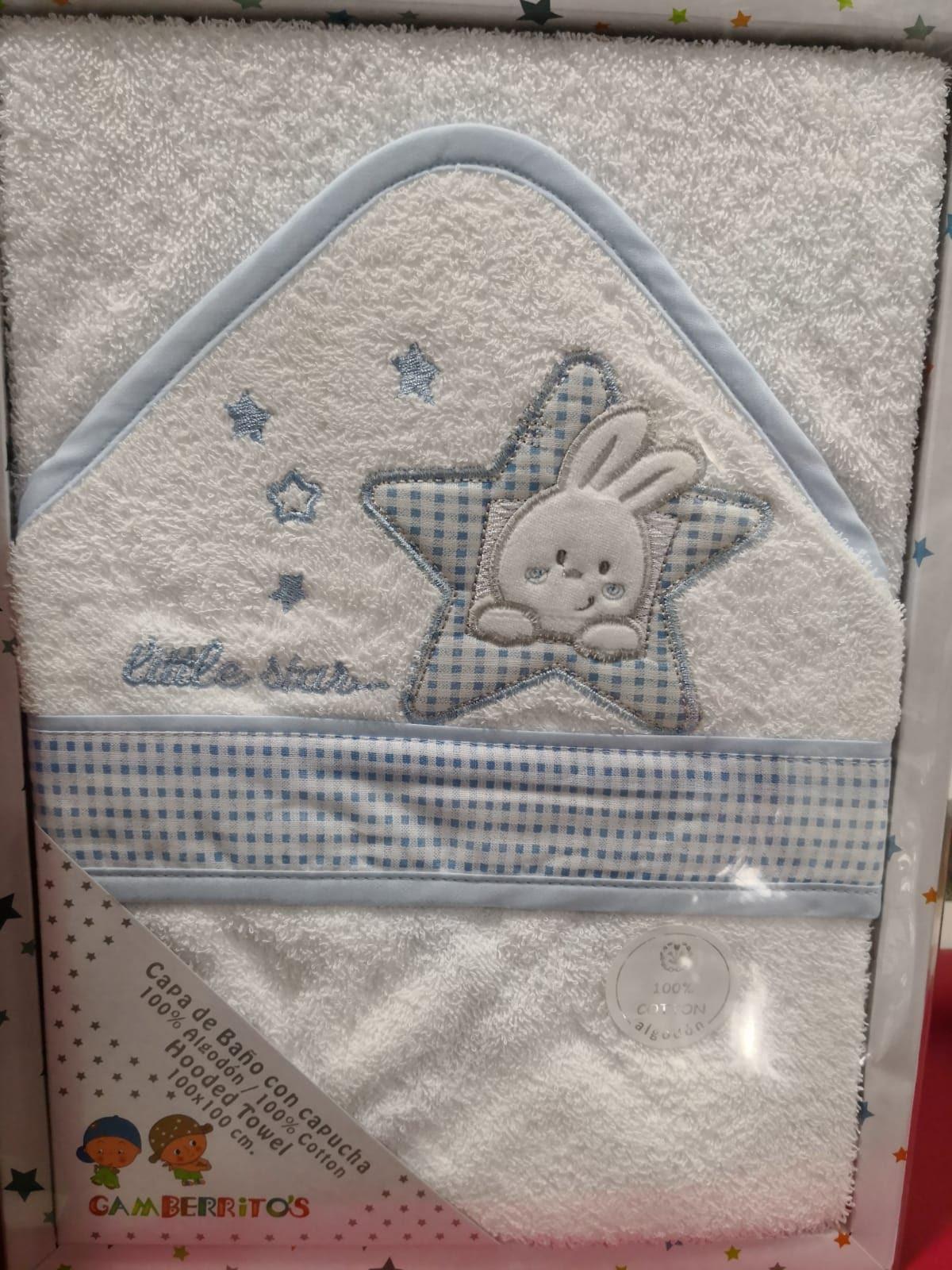 Capa de Baño Estrella Azul
