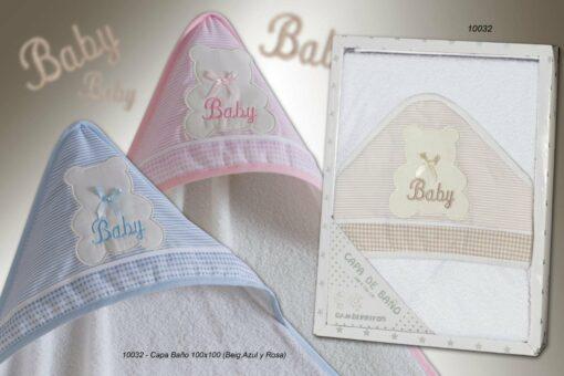 Capa de Baño Bebé Ref. 10032