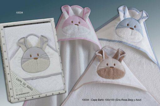Capa de Baño Bebé Ref.10034