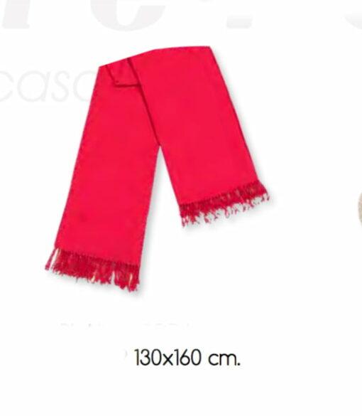 Manta Plaid AGORA Rojo