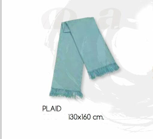 Manta Plaid AGORA Azul
