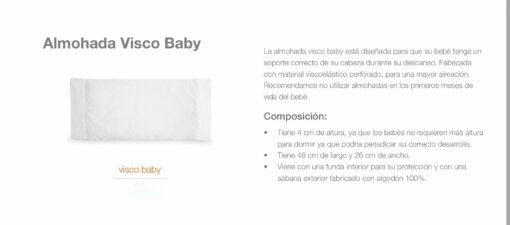 Almohada Visco Baby Comotex