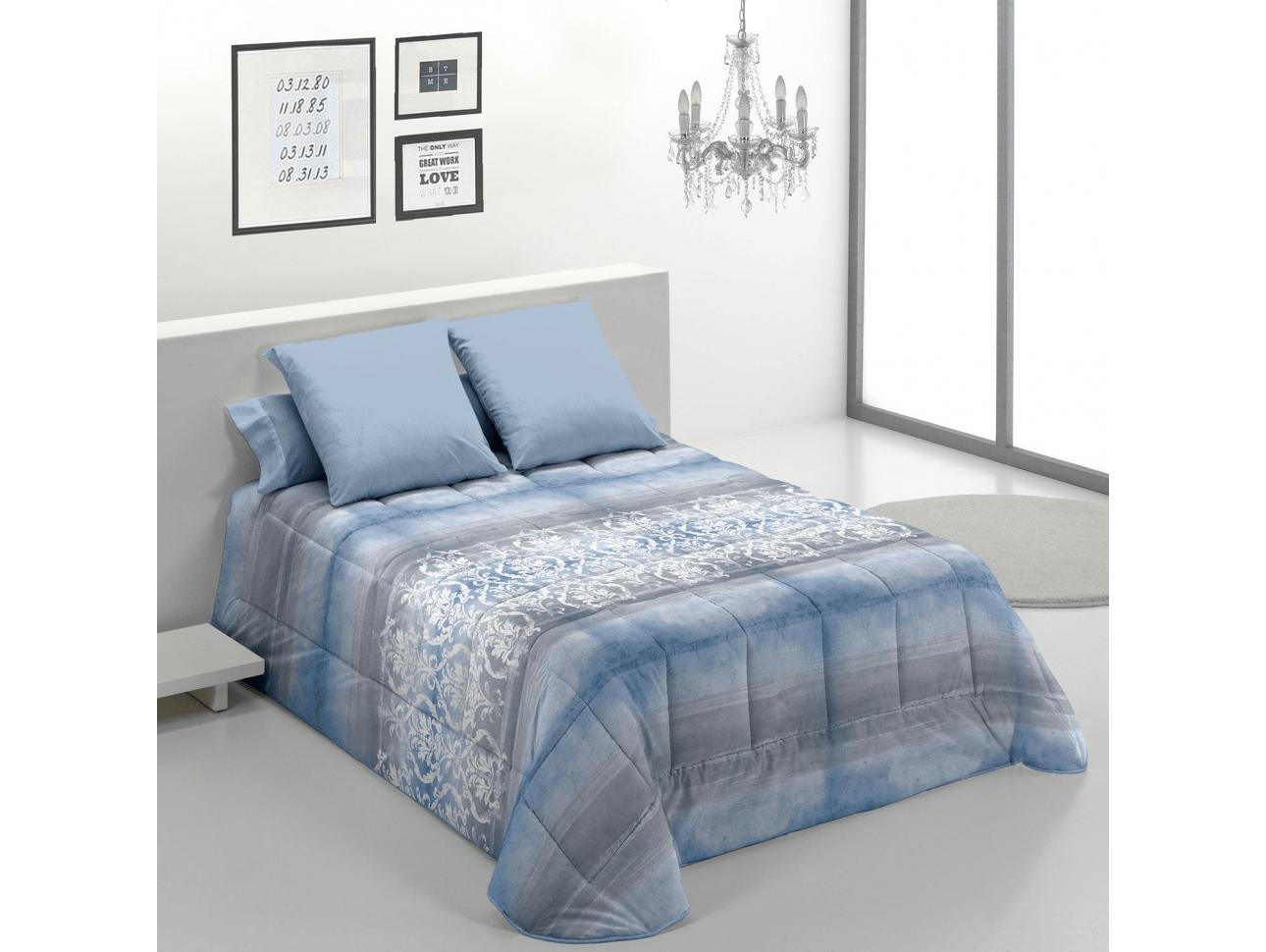 Edredon Confort Pisa Azul