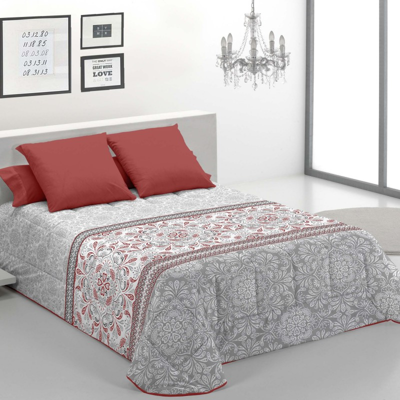 Edredon Confort Verona Rojo