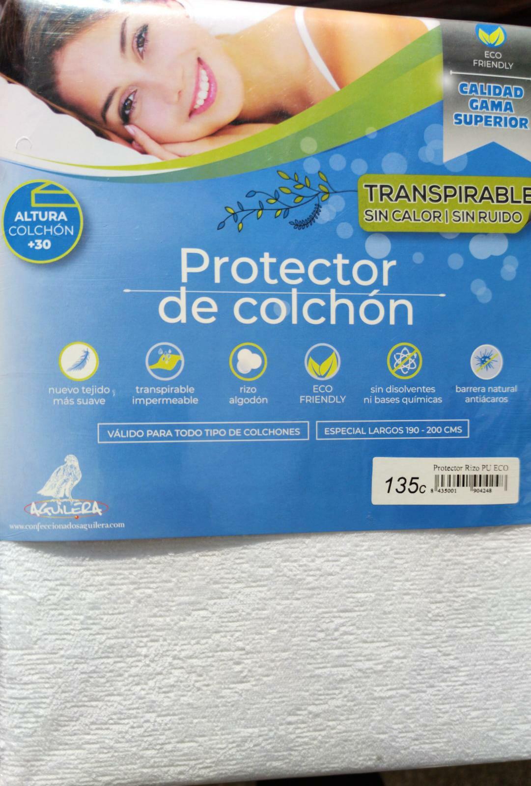 Protector Colchón Transpirable Impermeable EstiloHogar