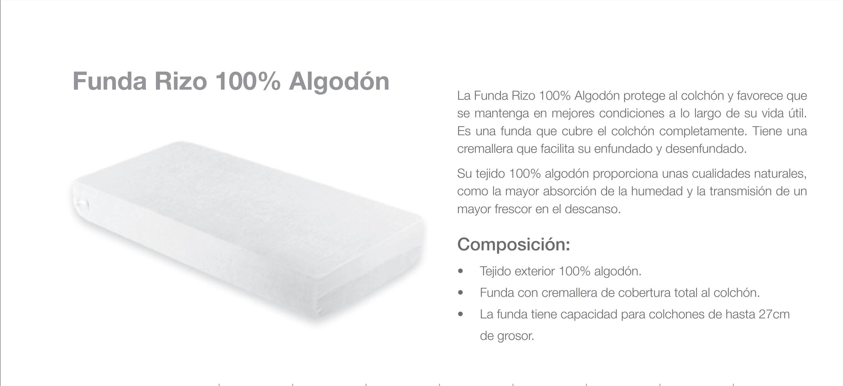 Funda Rizo 100% Algodón