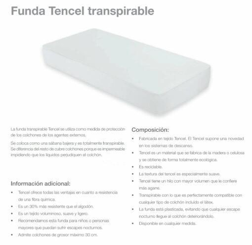 Funda Tencel Transpirable
