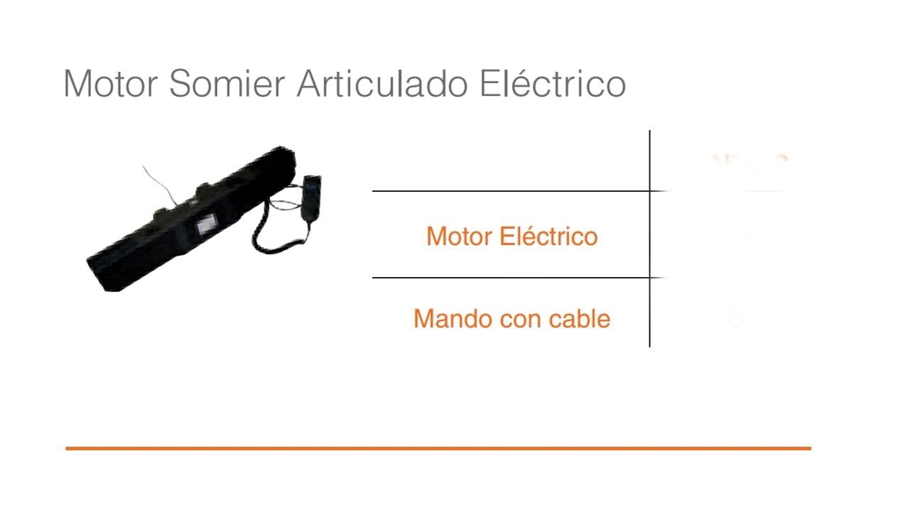 Motor y Mando Somier Eléctrico Articulado