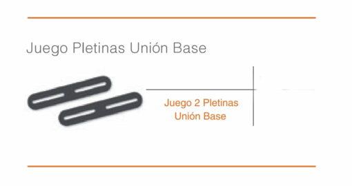 Juego Pletinas Union Base