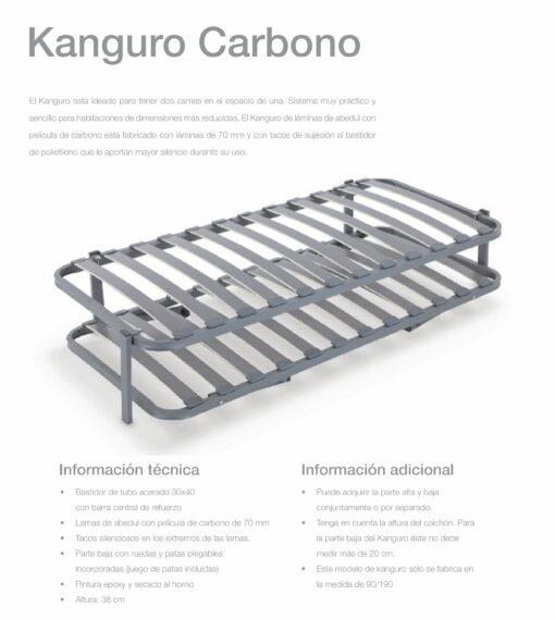 Somier  Kanguro Carbono