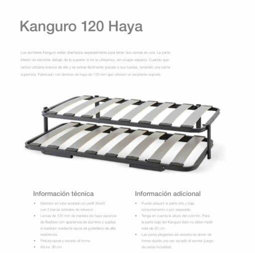 Somier Kanguro Haya Comotex