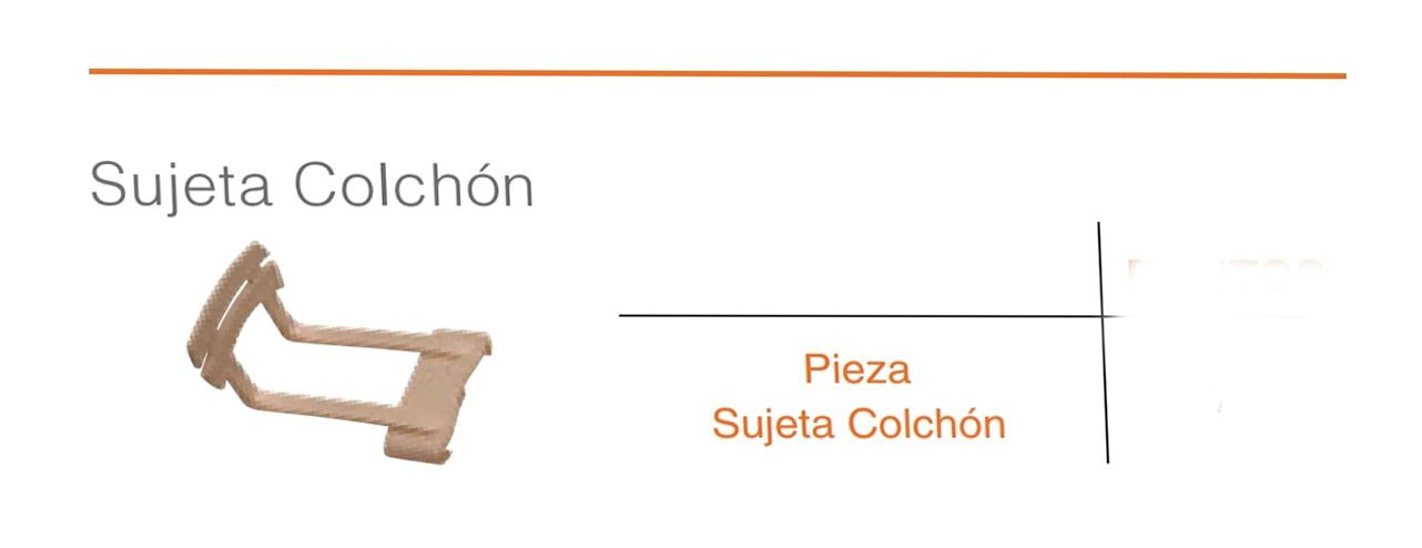 Sujeta Colchón