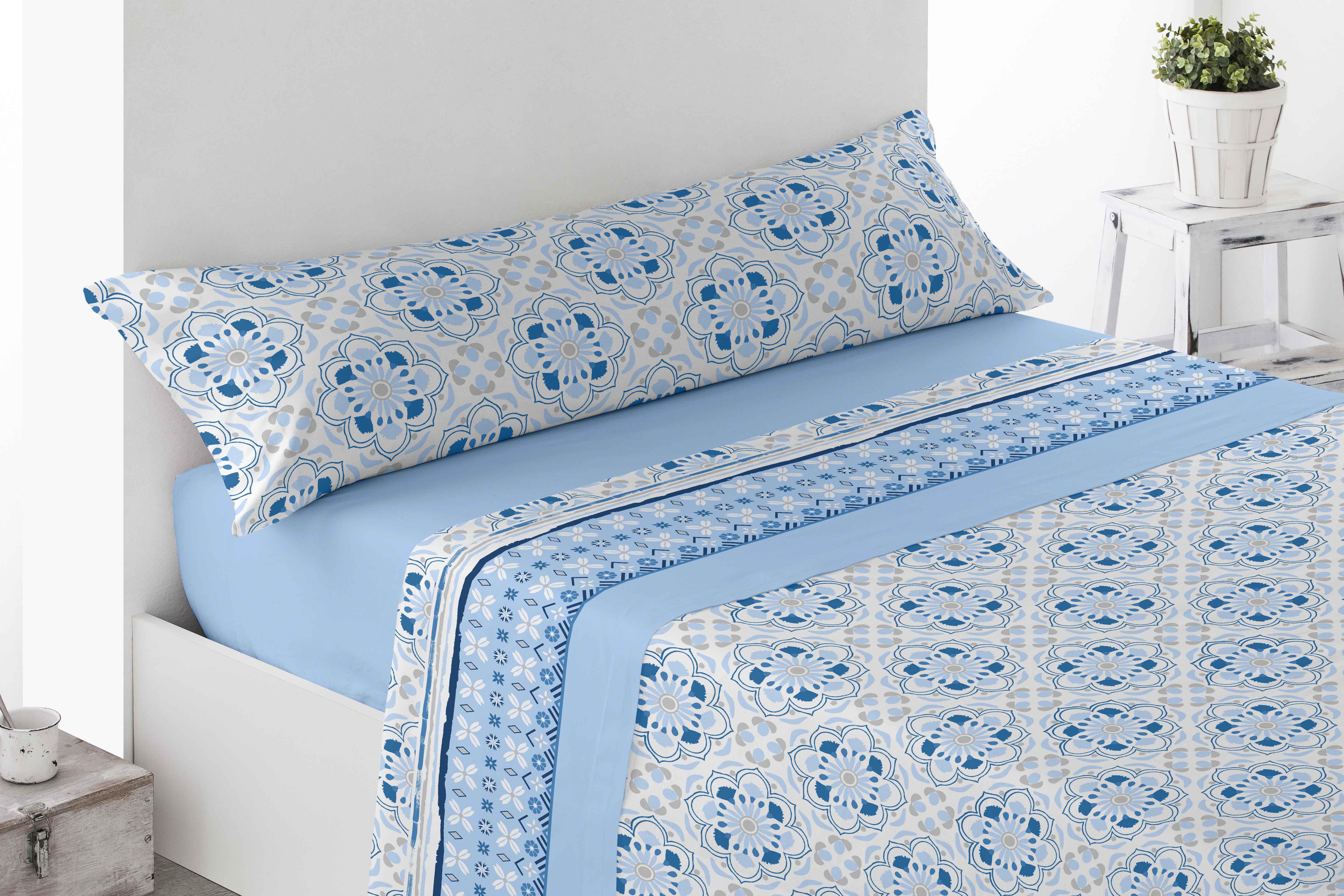 Juego Sábanas Coralina Balerma Azul