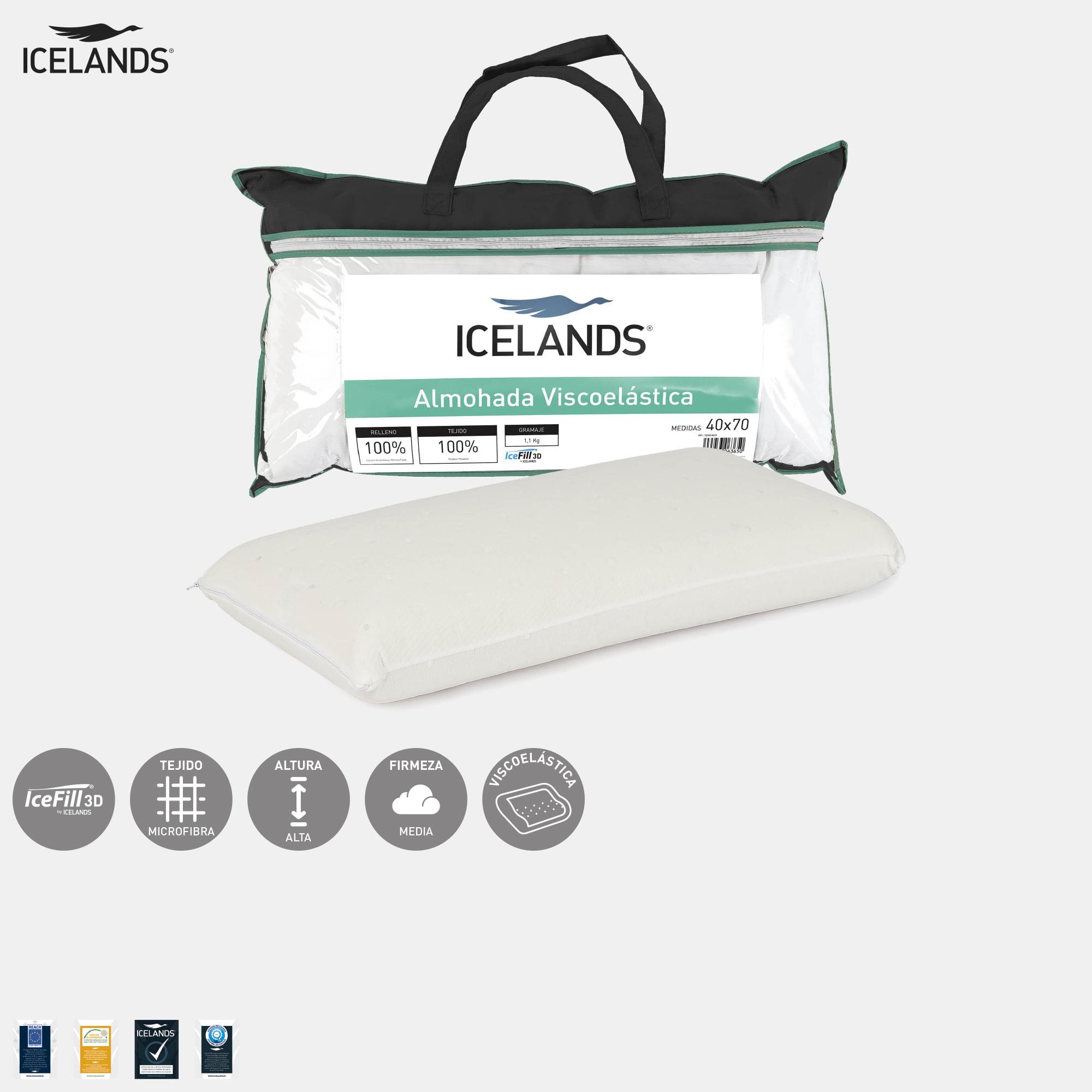 Almohada Viscoelástica Icelands