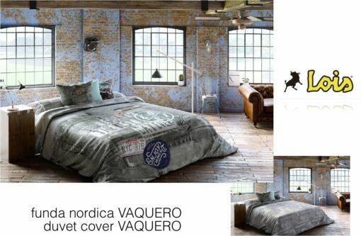 Funda Nórdica Reversible Vaquero