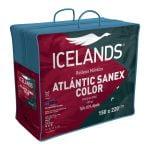 Relleno Nórdico Atlantic Sanex Rojo - Gris