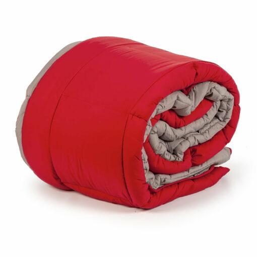 Relleno Nórdico Mediterraneo Rojo-Gris