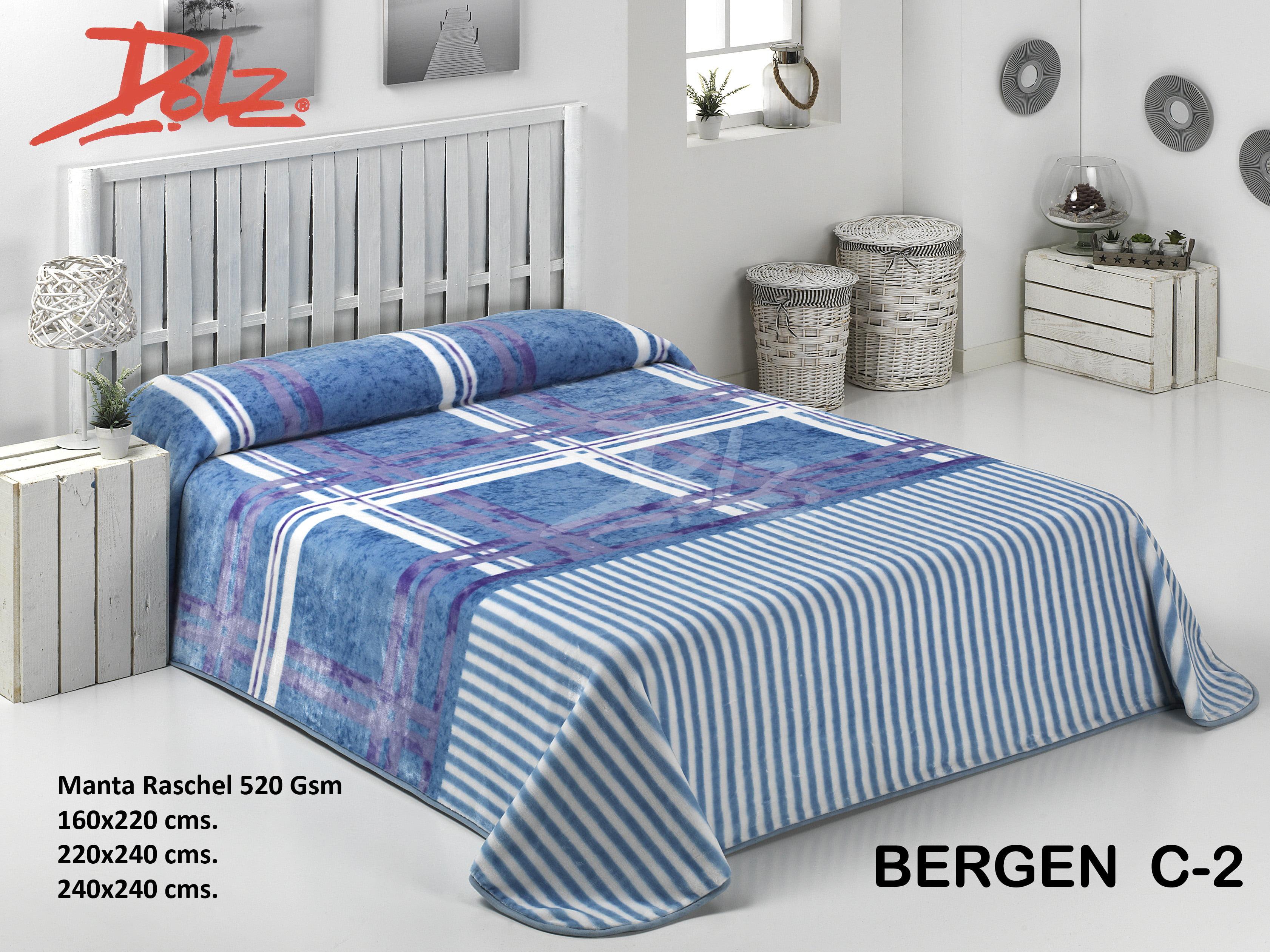 Manta Estampada Bergen C-2