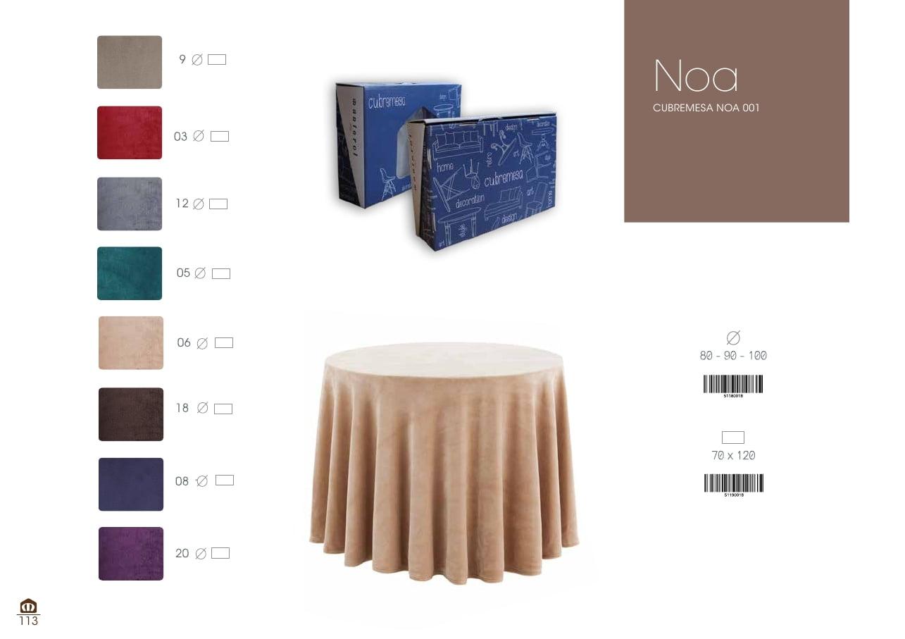 Mantel Cubremesa Noa