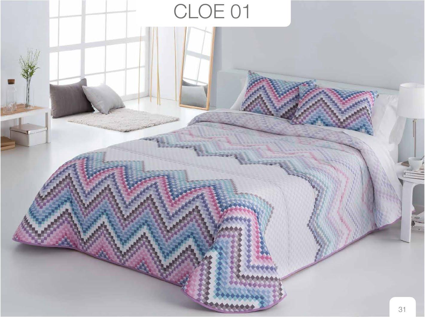 Conforter Bouti Estampado Cloe Azul
