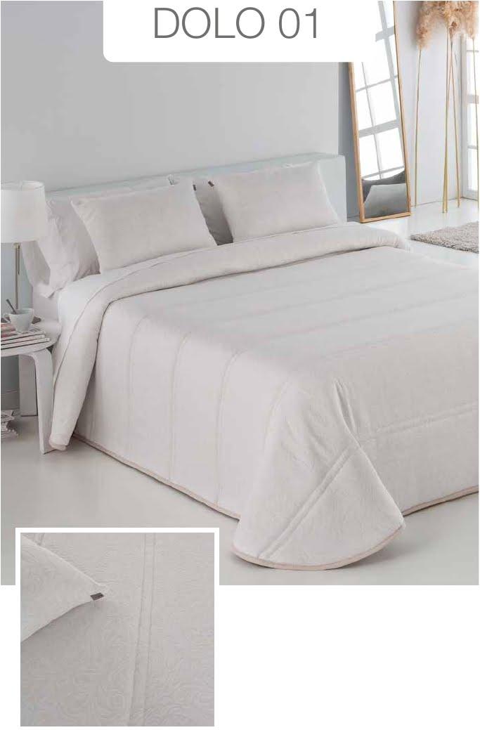 Conforter Bouti Jacquard Dolo Blanco