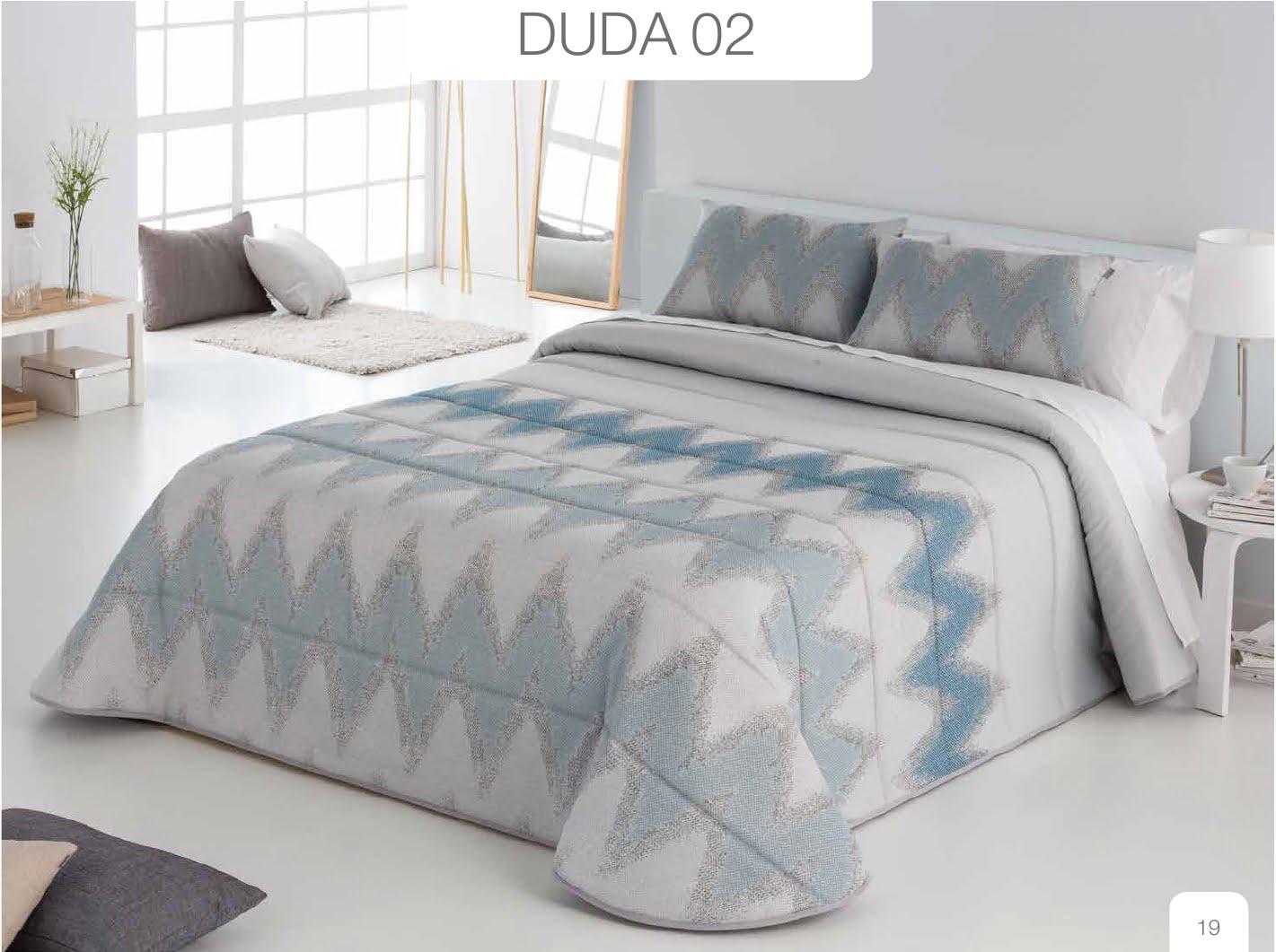 Conforter Bouti Jacquard Duda Azul