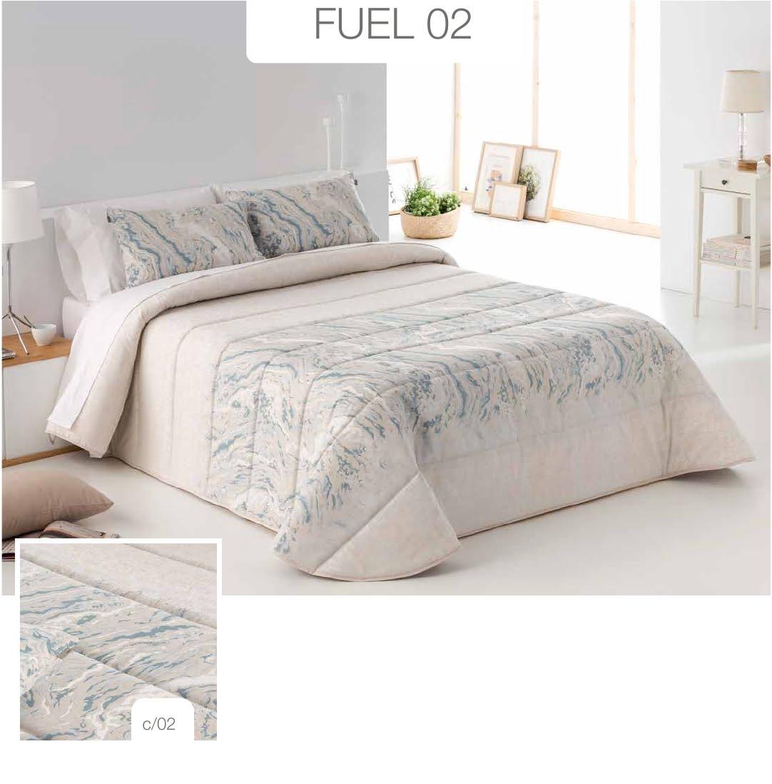 Conforter Bouti Jacquard Fuel Azul