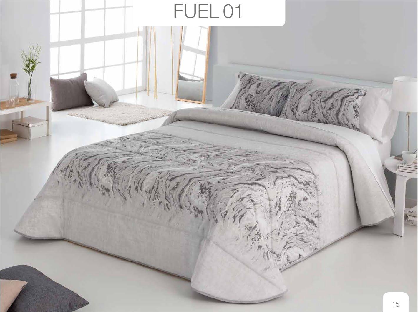 Conforter Bouti Jacquard Fuel Negro