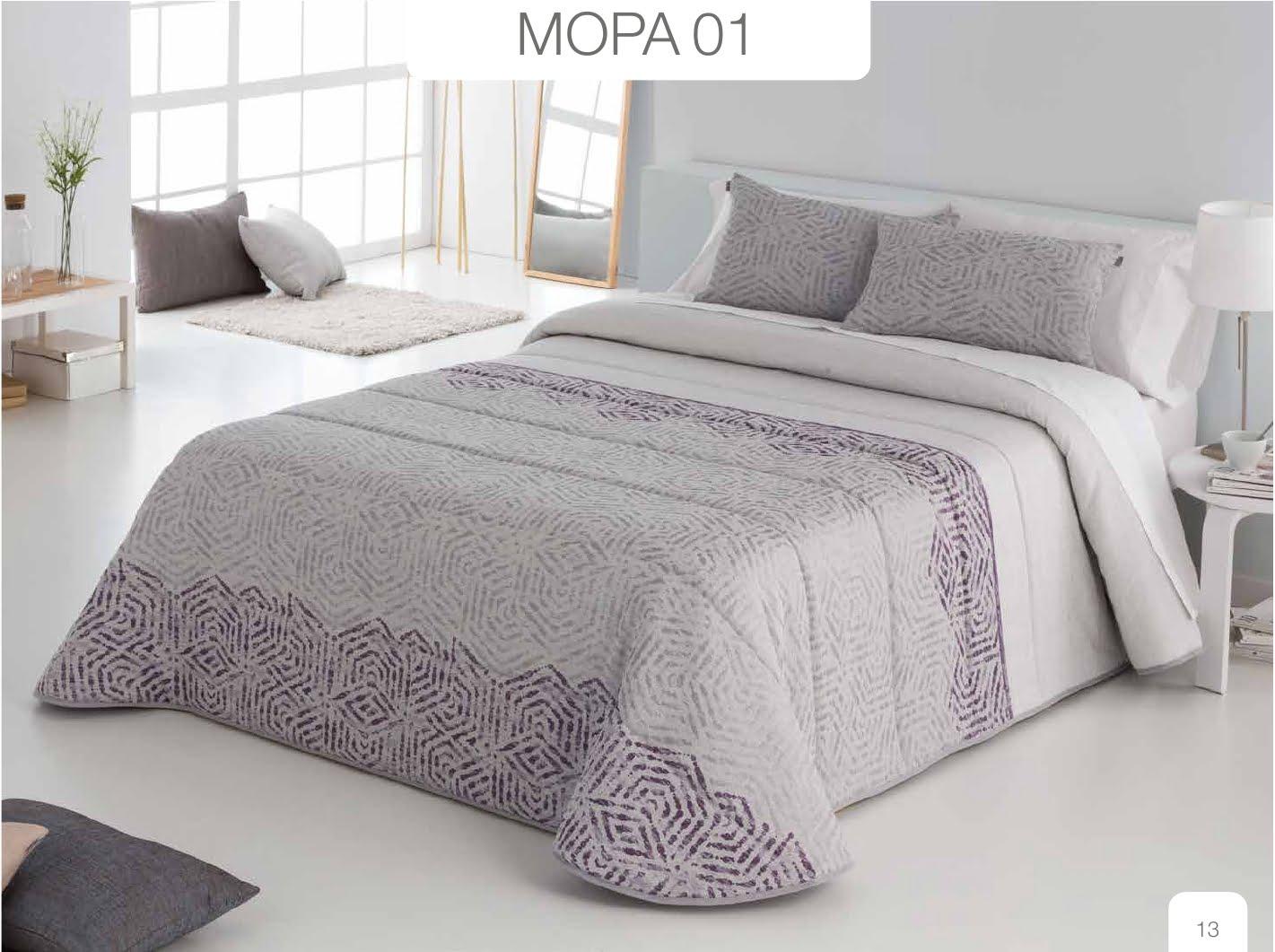 Conforter Bouti Jacquard Mopa Morado