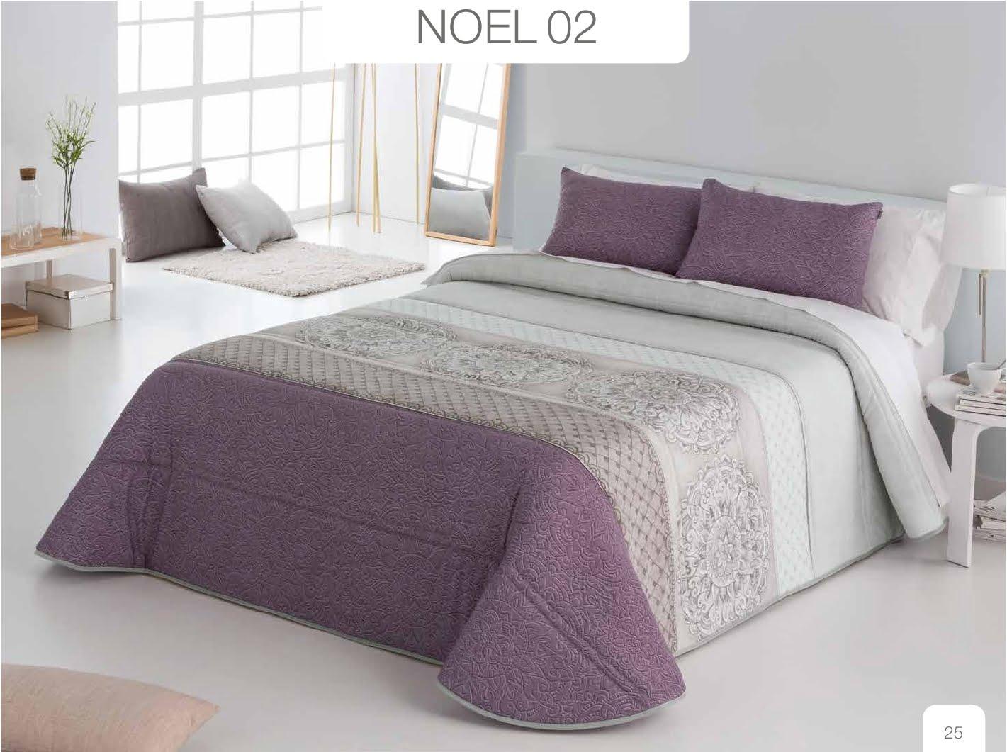 Conforter Bouti Estampado Noel Lila