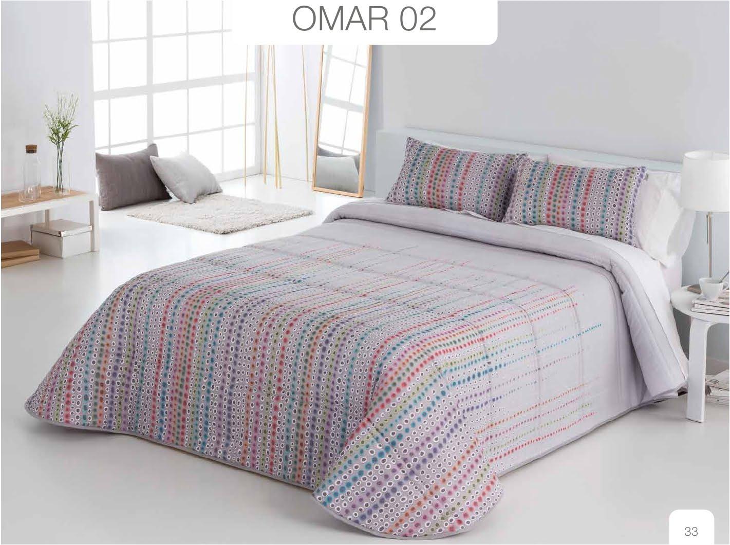 Conforter Bouti Estampado Omar Gris