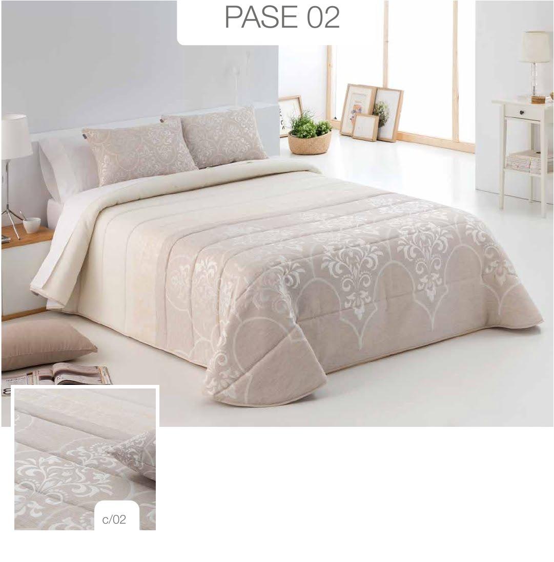 Conforter Bouti Jacquard Pase Rosa