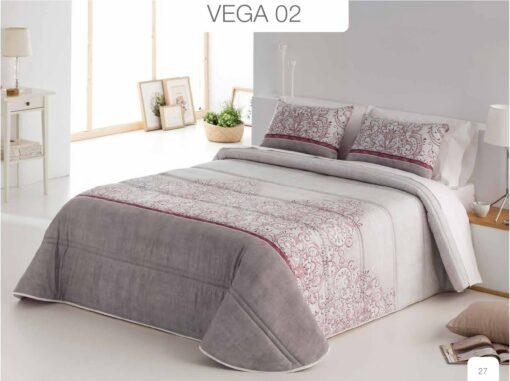 Conforter Bouti Estampado Vega Rojo