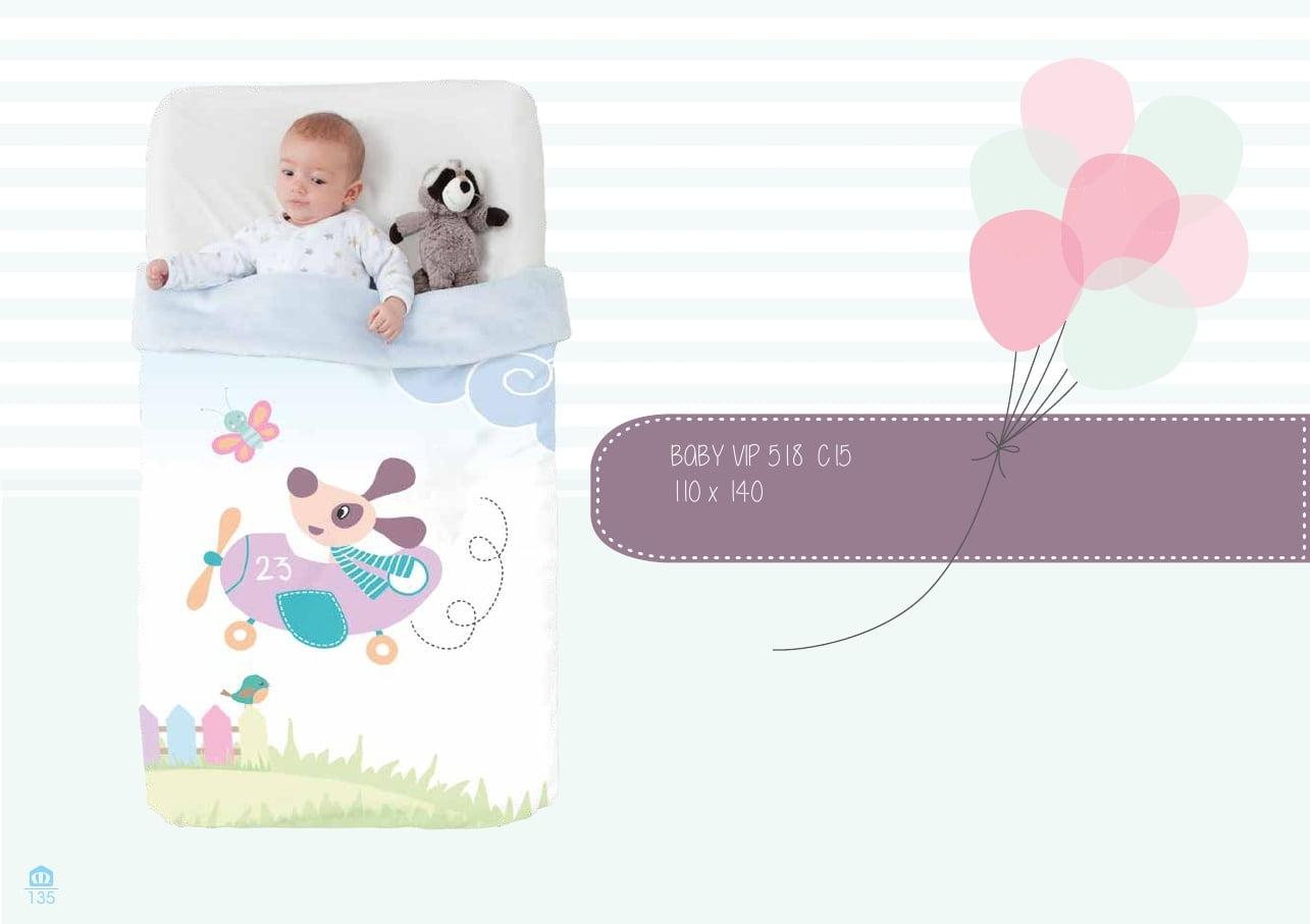 Manta Cuna Baby Vip 518 C-15