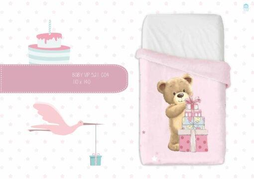 Manta Mini Cuna Baby Vip 521 C-04