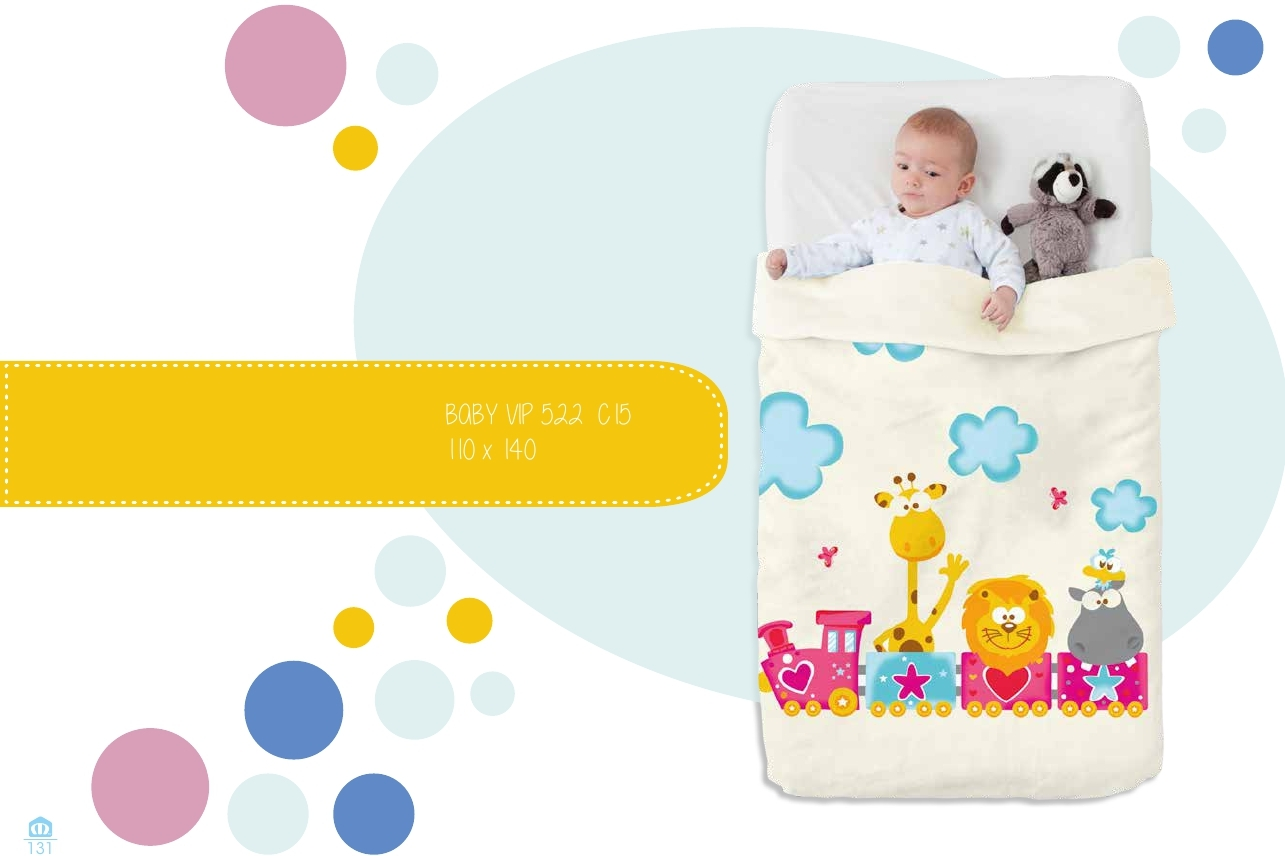 Manta Cuna Baby Vip 522 C-15