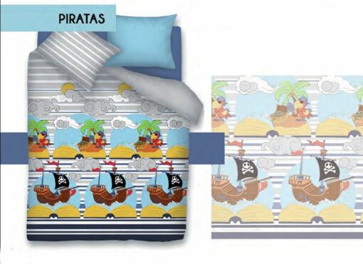 Edredón Nórdico Piratas